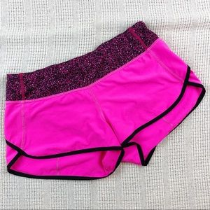 Lululemon Run Speed Short  4-way Stretch Raspberry